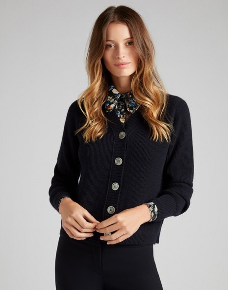 Kimbella Cardigan Dark Navy