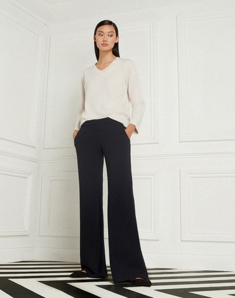 Laine Trousers Dark Navy