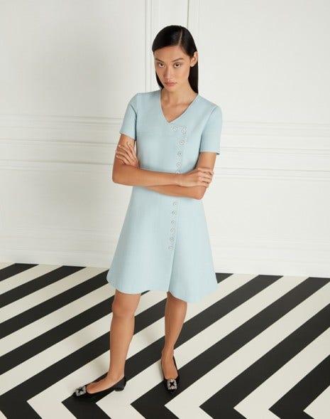 Lara Dress Frost Blue