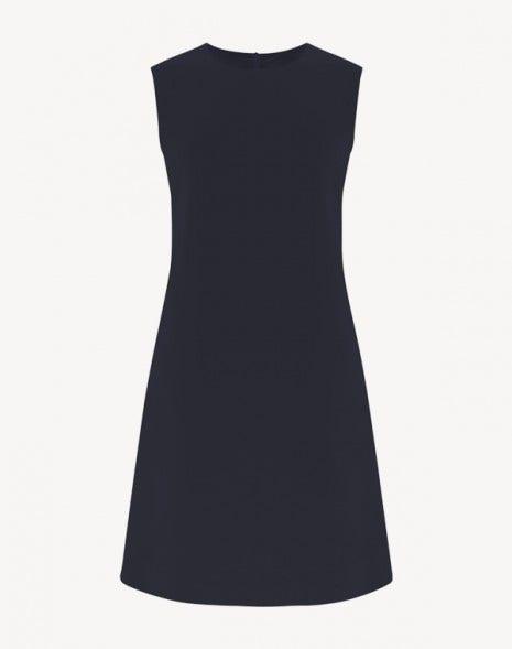 Lois Dress Dark Navy