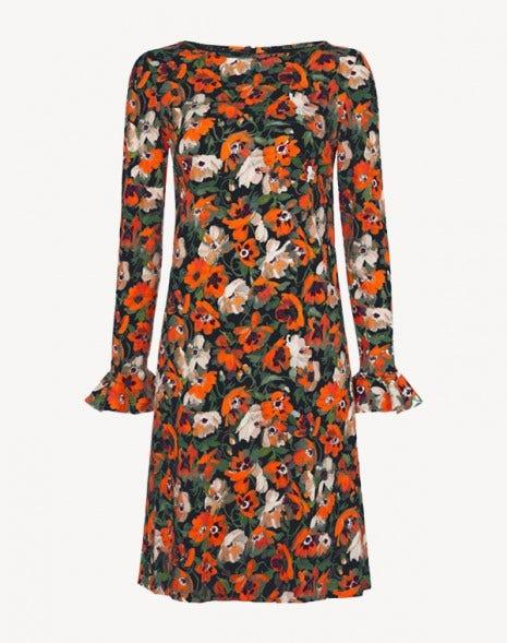 Lucy Dress Poppy Black