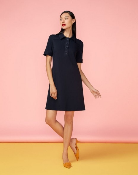 Lula Dress Dark Navy