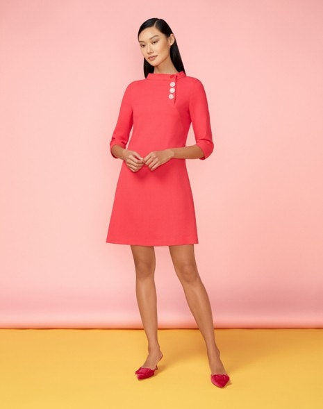 Luna Dress Flamingo