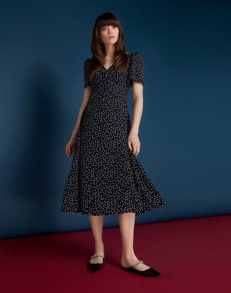 Miranda Dress Black Spot