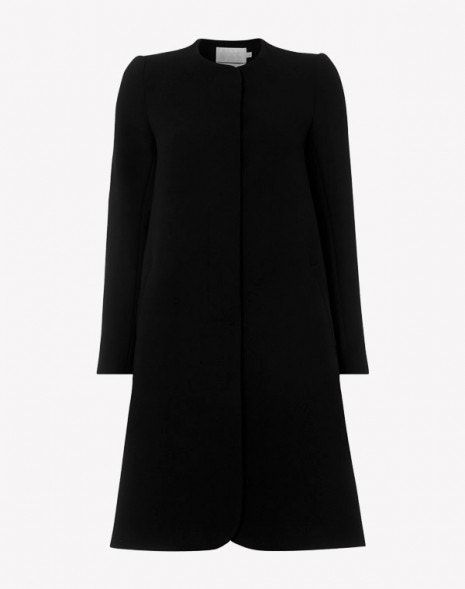 Redgrave Longer Length Coat Black