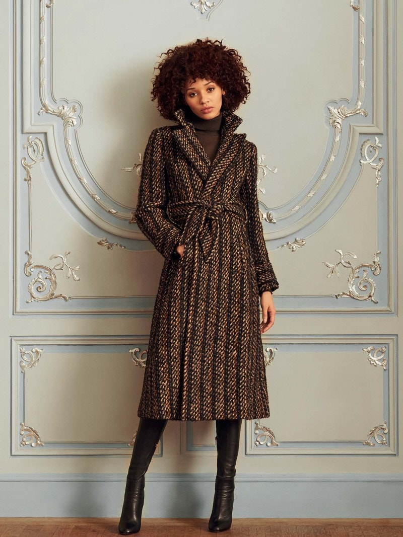 Gladstone Coat - Multi Tweed