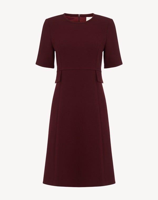 Geranium Dress Plum