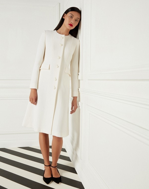 Hampton Coat Cream