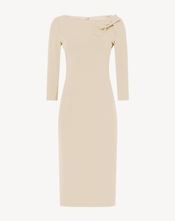Henriette Dress Beige