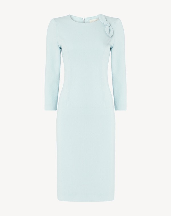 Jenna Dress  Frost Blue