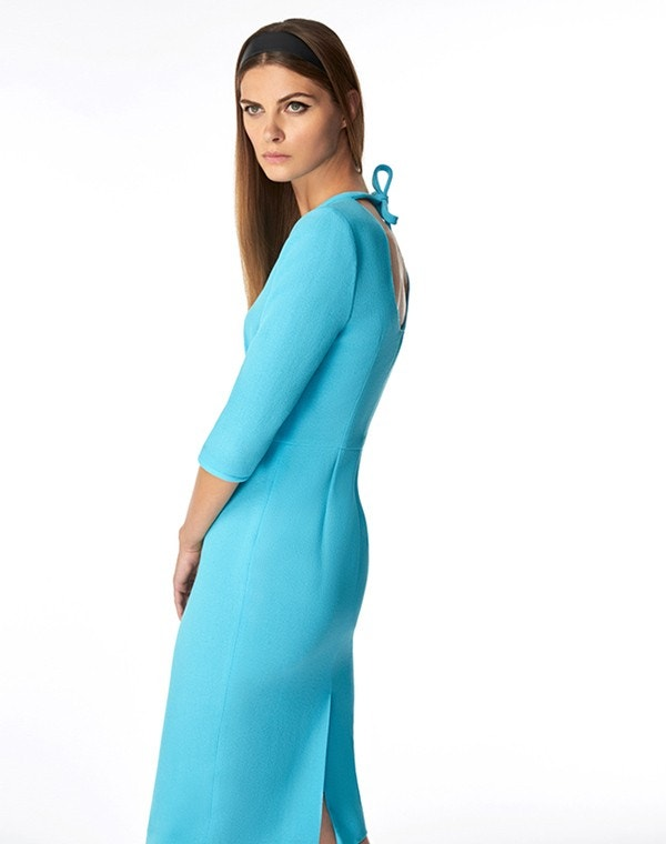 Jerry Dress Turquoise