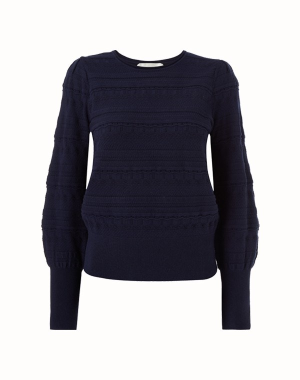Jocasta Sweater Dark Navy