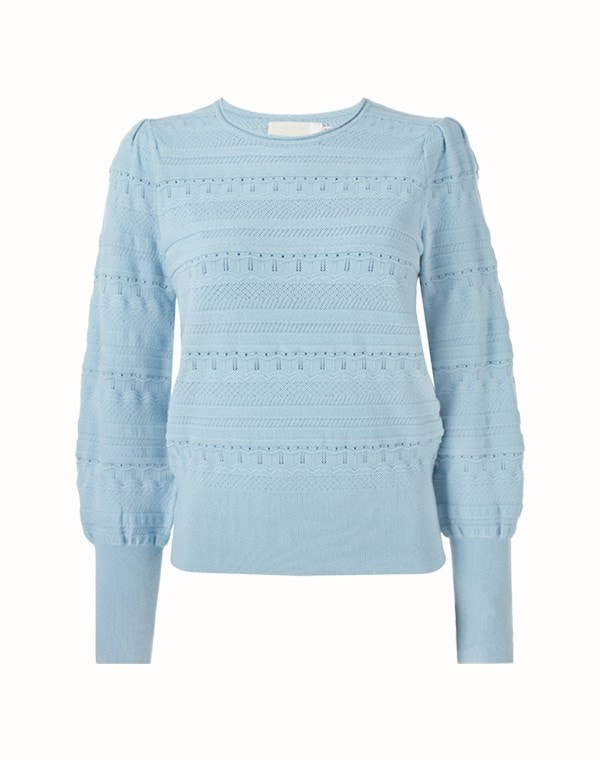 Jocasta Sweater Sky Blue