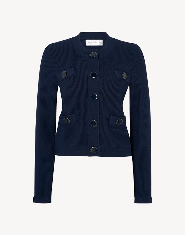 Joy Jacket Dark Navy