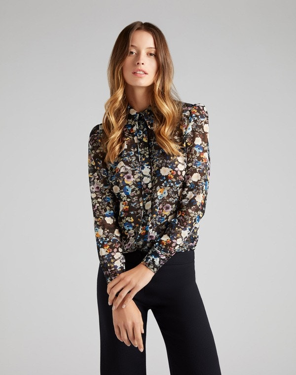 Kamber Shirt Blue Wildflower