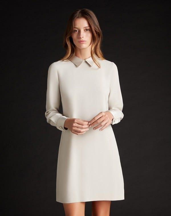 Karmel Dress Oyster