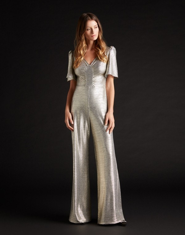 Karolina Metallic Jersey All in One