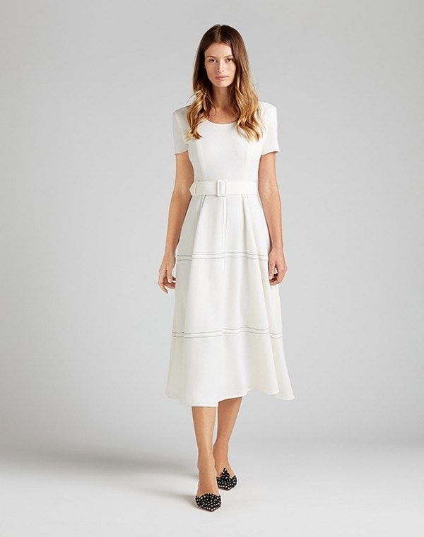 Kelly Midi Dress Cream