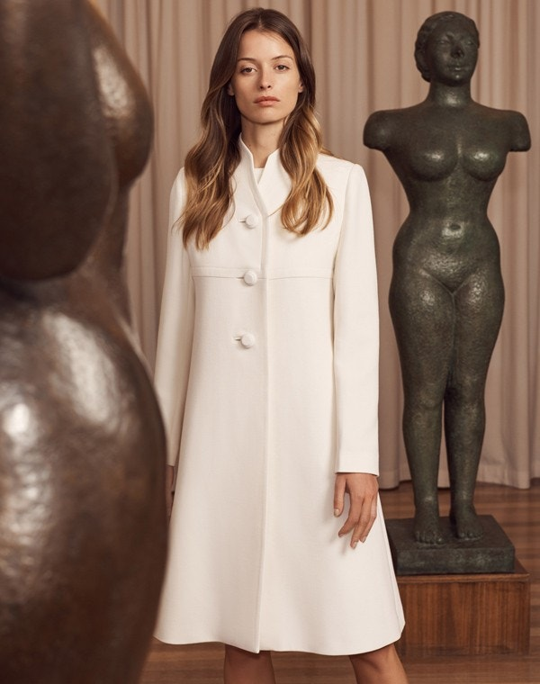 Kendra Coat Cream