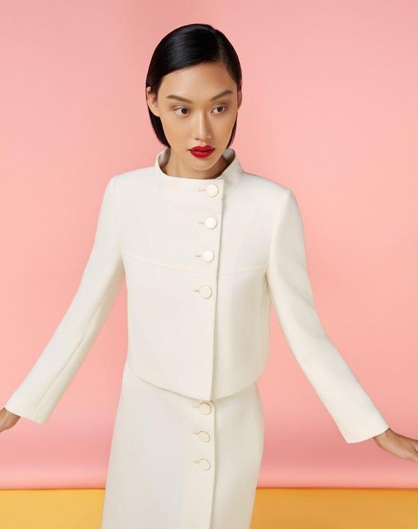 Lauren Jacket  Cream
