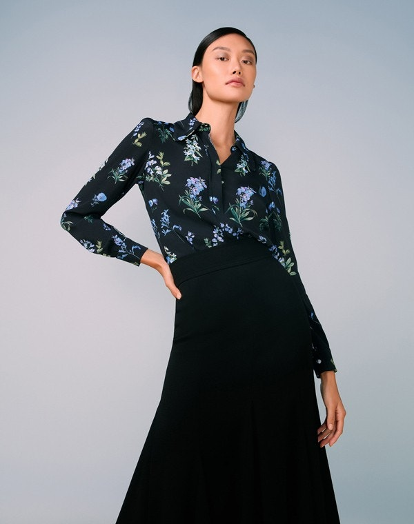 Leonora Shirt Blue Meadow