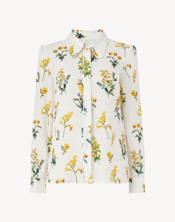 Leonora Shirt Cream Meadow