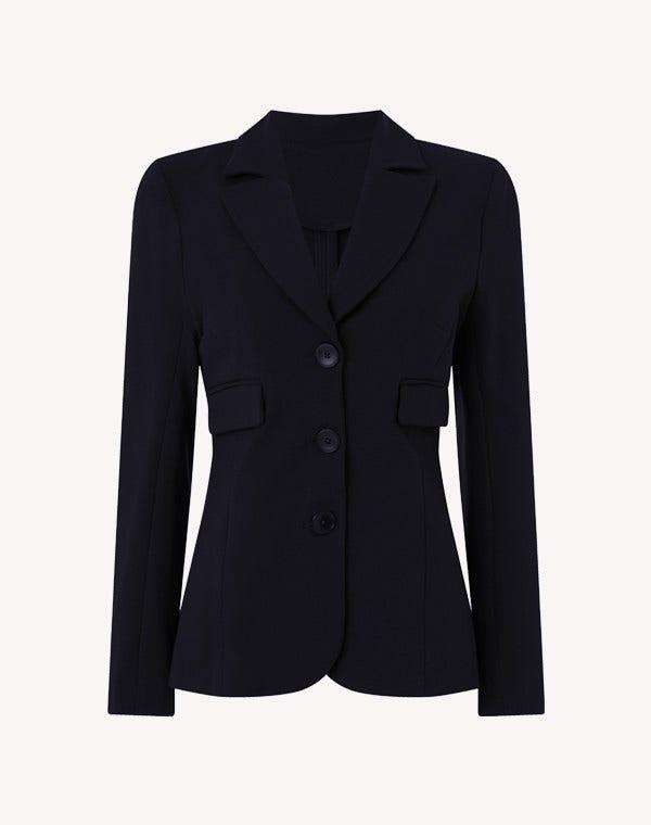 Margeaux Jersey Jacket Dark Navy