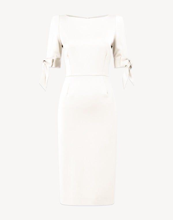 Marquise Cady Dress Cream