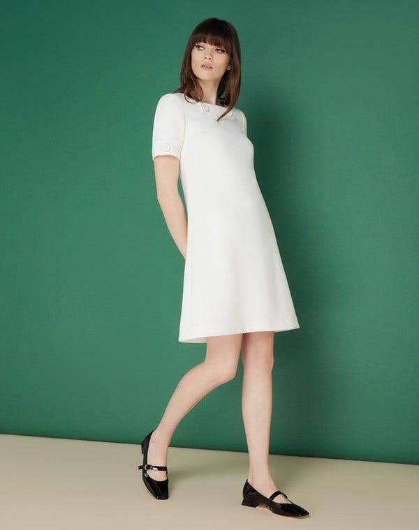 Muriel Dress Cream