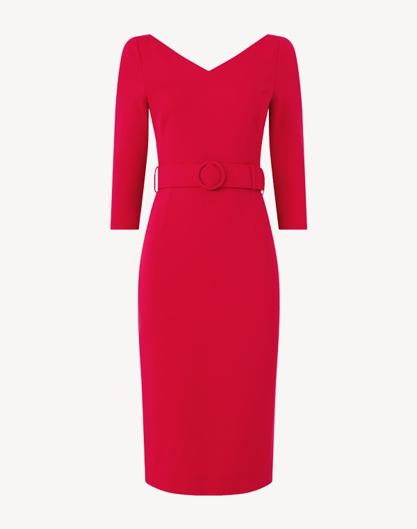 Muse Dress Raspberry
