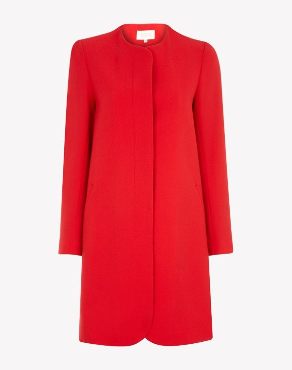 Redgrave Coat Red