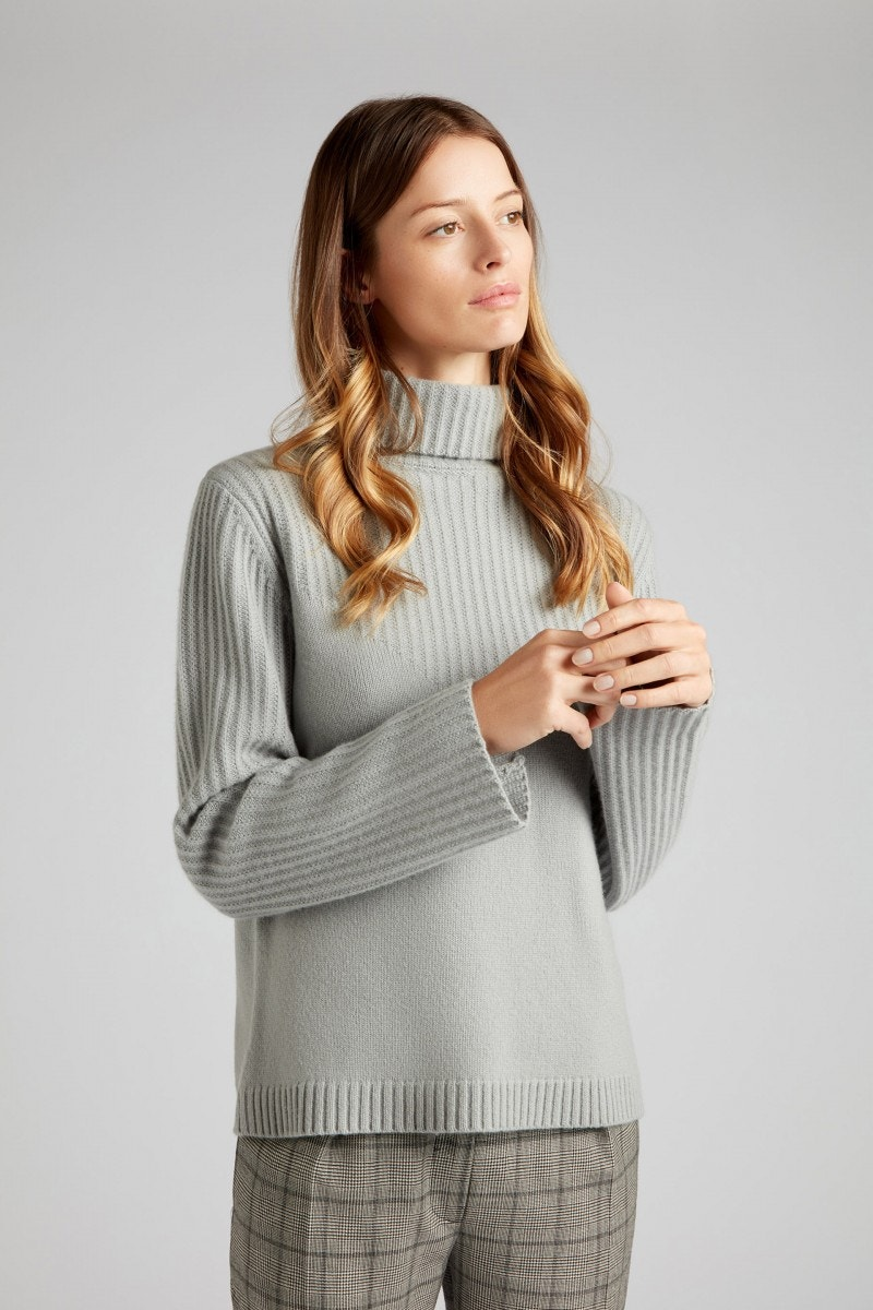 Kenya Cashmere Sweater Dove Grey