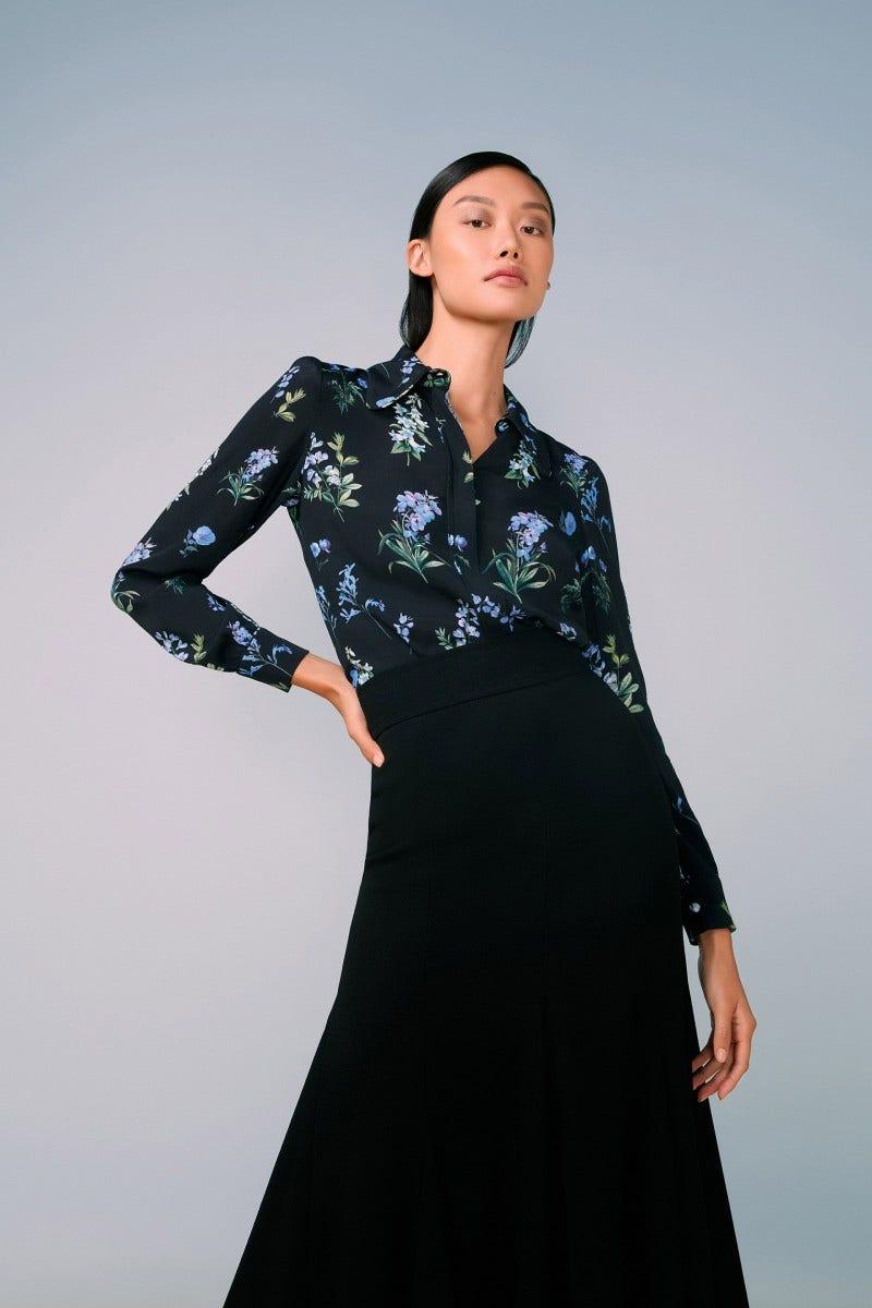 Leonora Shirt Blue Meadow