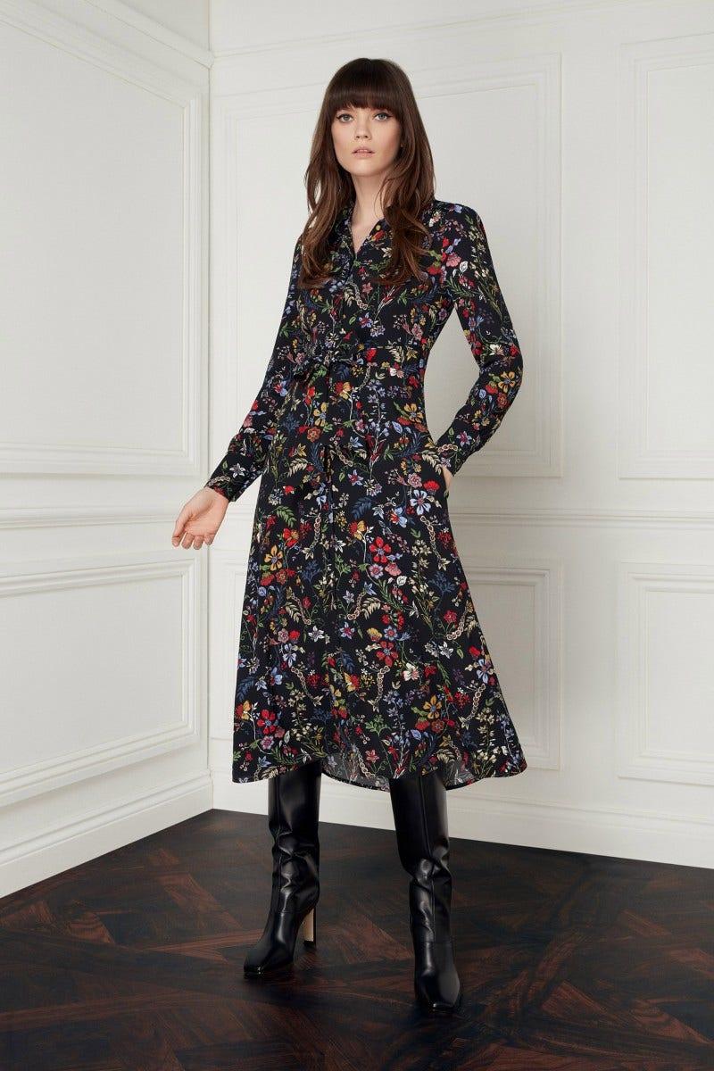Minerva Dress Black Secret Garden