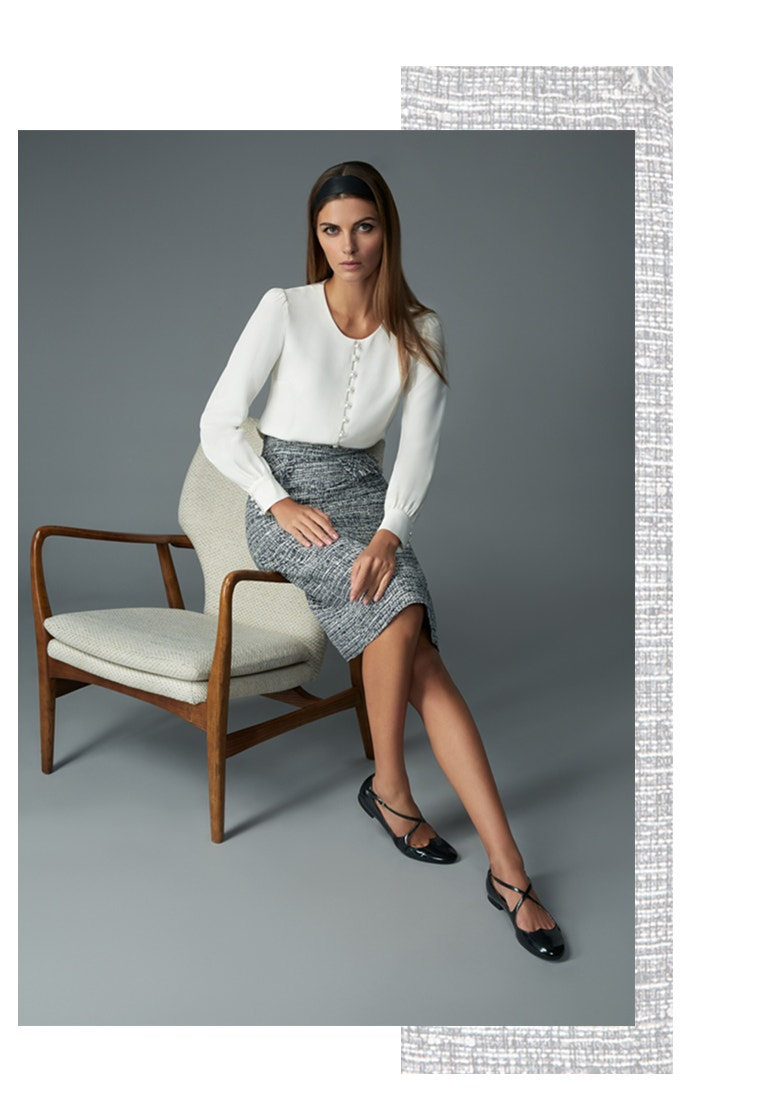 Goat Fashion Tweed The Jinny Skirt